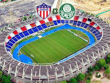 Pré-jogo Junior de Barranquilla x Palmeiras