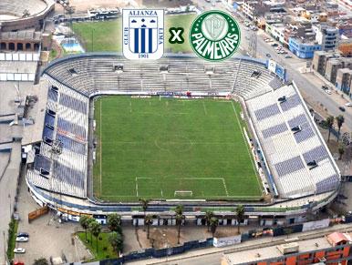 Pré-jogo Alianza Lima x Palmeiras