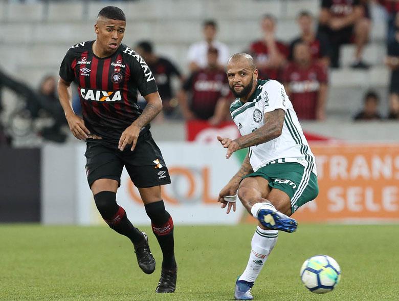Atlético-PR 1x3 Palmeiras