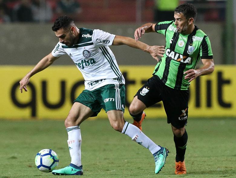 América-MG 1x2 Palmeiras