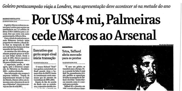 Folha - Marcos