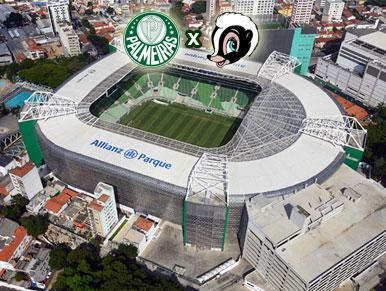 Pré-jogo Palmeiras x SCCP