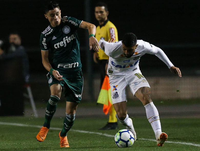 Santos 1x1 Palmeiras
