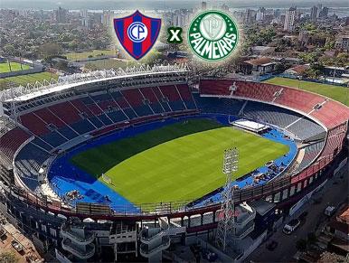 Pré-jogo Cerro Porteño x Palmeiras