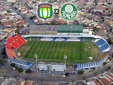 Pré-jogo São Caetano x Palmeiras