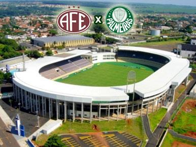 Pré-jogo Ferroviária x Palmeiras
