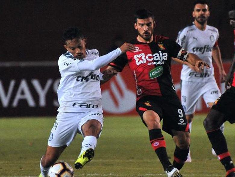 Melgar 0x4 Palmeiras
