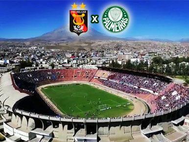 Pré-jogo Melgar x Palmeiras