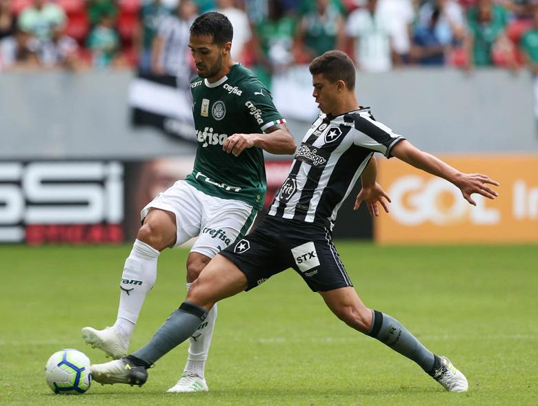 Botafogo 0x1 Palmeiras