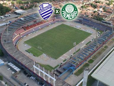 Pré-jogo CSA x Palmeiras
