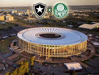 Pré-jogo Botafogo x Palmeiras