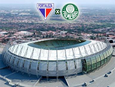 Pré-jogo Fortaleza x Palmeiras
