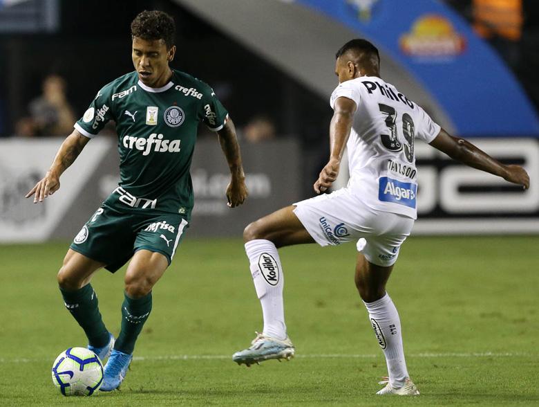Santos 2x0 Palmeiras