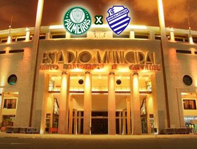 Pré-jogo Palmeiras x CSA