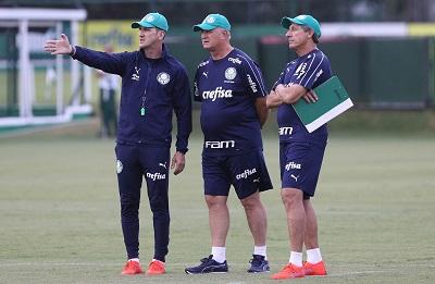 Paulo Turra, Felipão e Carlos Pracidelli