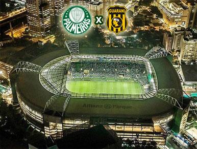 Pré-jogo Palmeiras x Guaraní