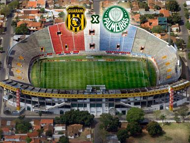 Pré-jogo Guaraní x Palmeiras