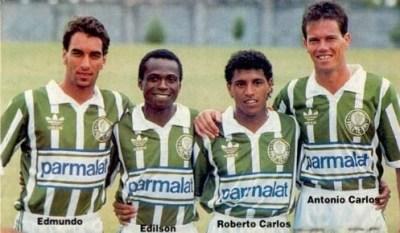 Edmundo, Edilson, Roberto Carlos e Antônio Carlos