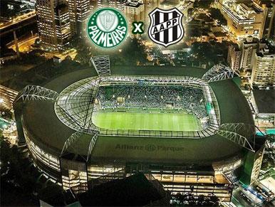 Pré-jogo Palmeiras x Ponte Preta
