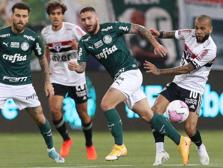 Palmeiras 0x2 SPFC