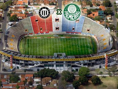 Pré-jogo Libertad x Palmeiras
