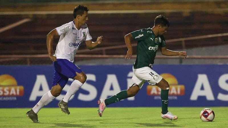Santo André 0x1 Palmeiras