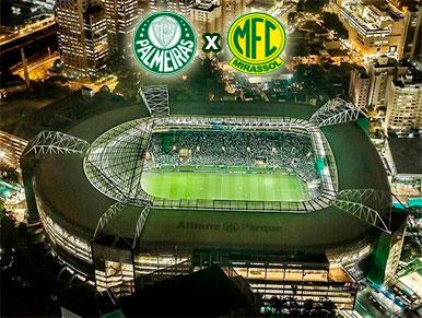 Pré-jogo Palmeiras x Mirassol