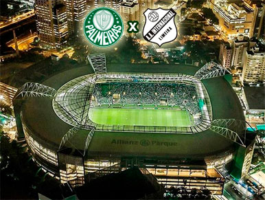 Pré-jogo Palmeiras x Inter de Limeira