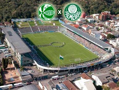 Pré-jogo Juventude x Palmeiras
