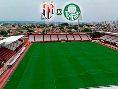 Pré-jogo Atlético-GO x Palmeiras