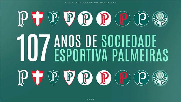 Palmeiras 107 anos