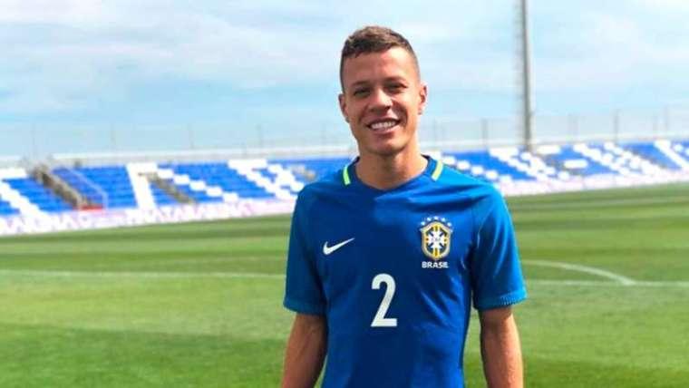 Lucas Sena reforça o sub-20 do Palmeiras