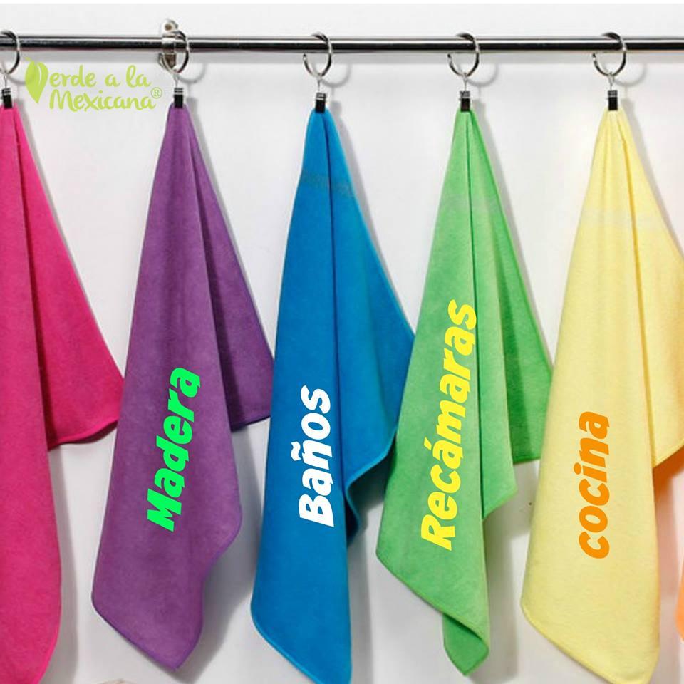 Microfibra para limpiar tu hogar verde a la mexicana - Limpiar la casa ...