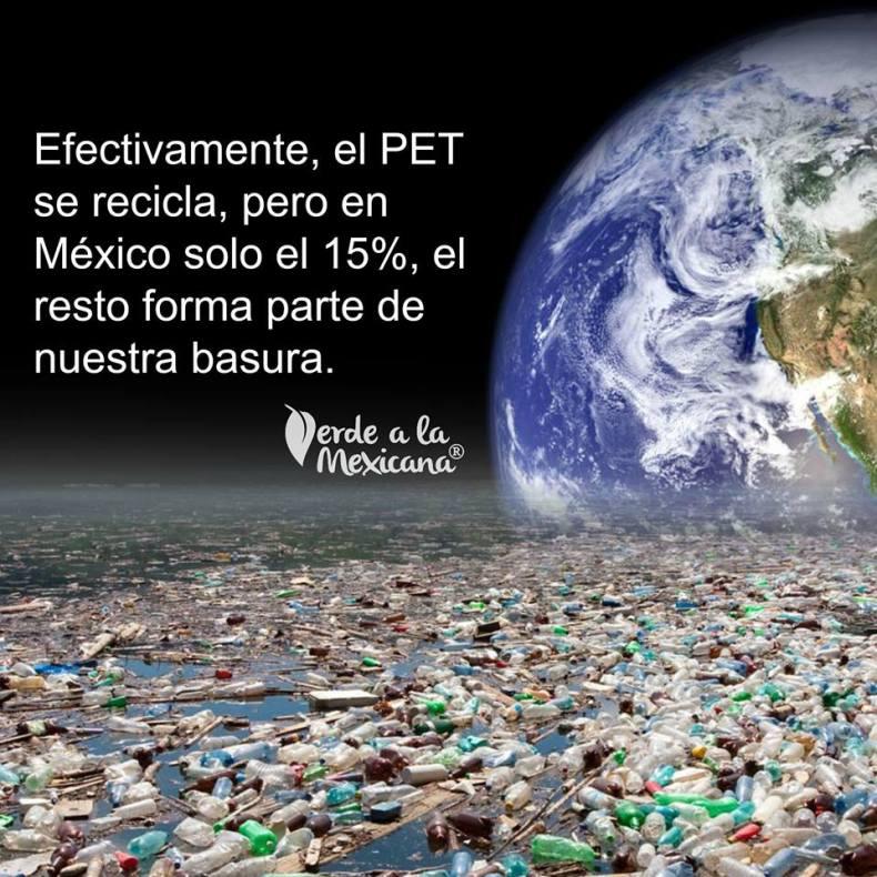 reciclar botellas pet