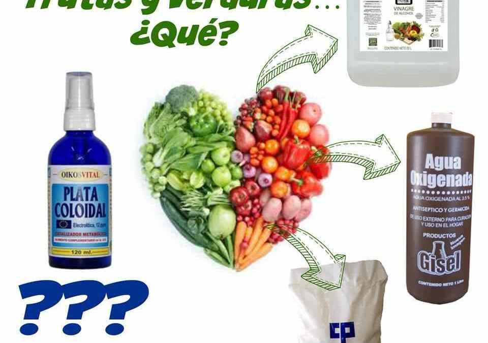 Cómo desinfectar las frutas y verduras sin químicos tóxicos