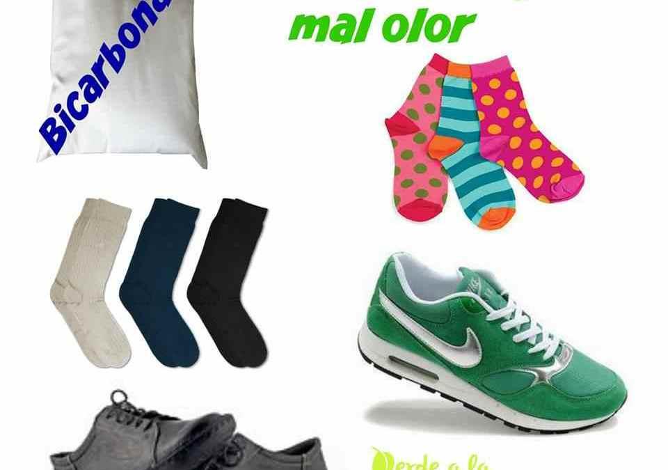 Cómo quitar el mal olor en los zapatos