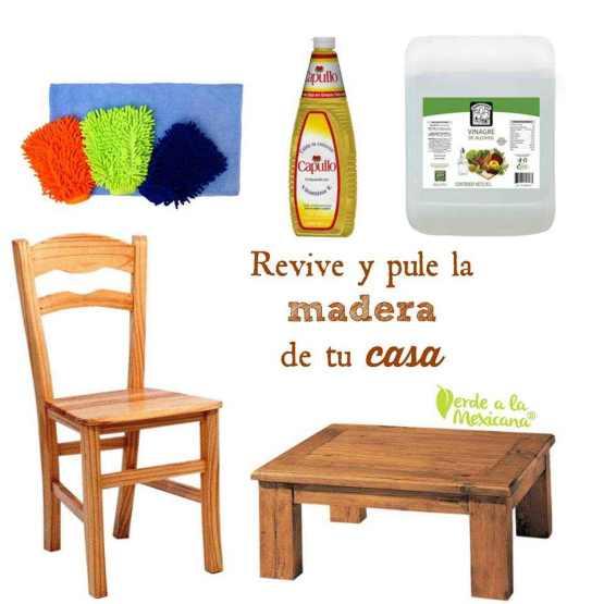 Como limpiar los muebles de madera sin usar químicos tóxicos - Verde ...