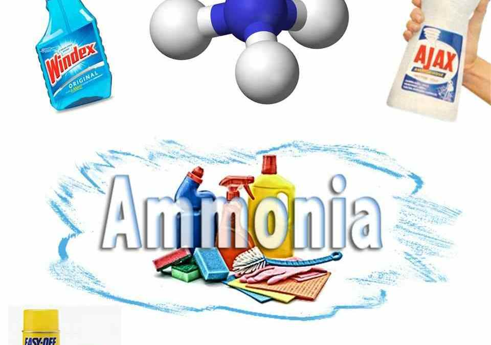 Usar o no usar amoniaco