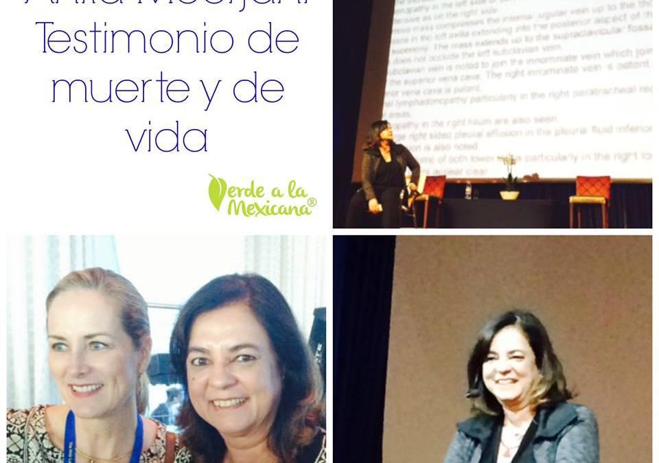 Anita Moorjani: testimonio de muerte y vida