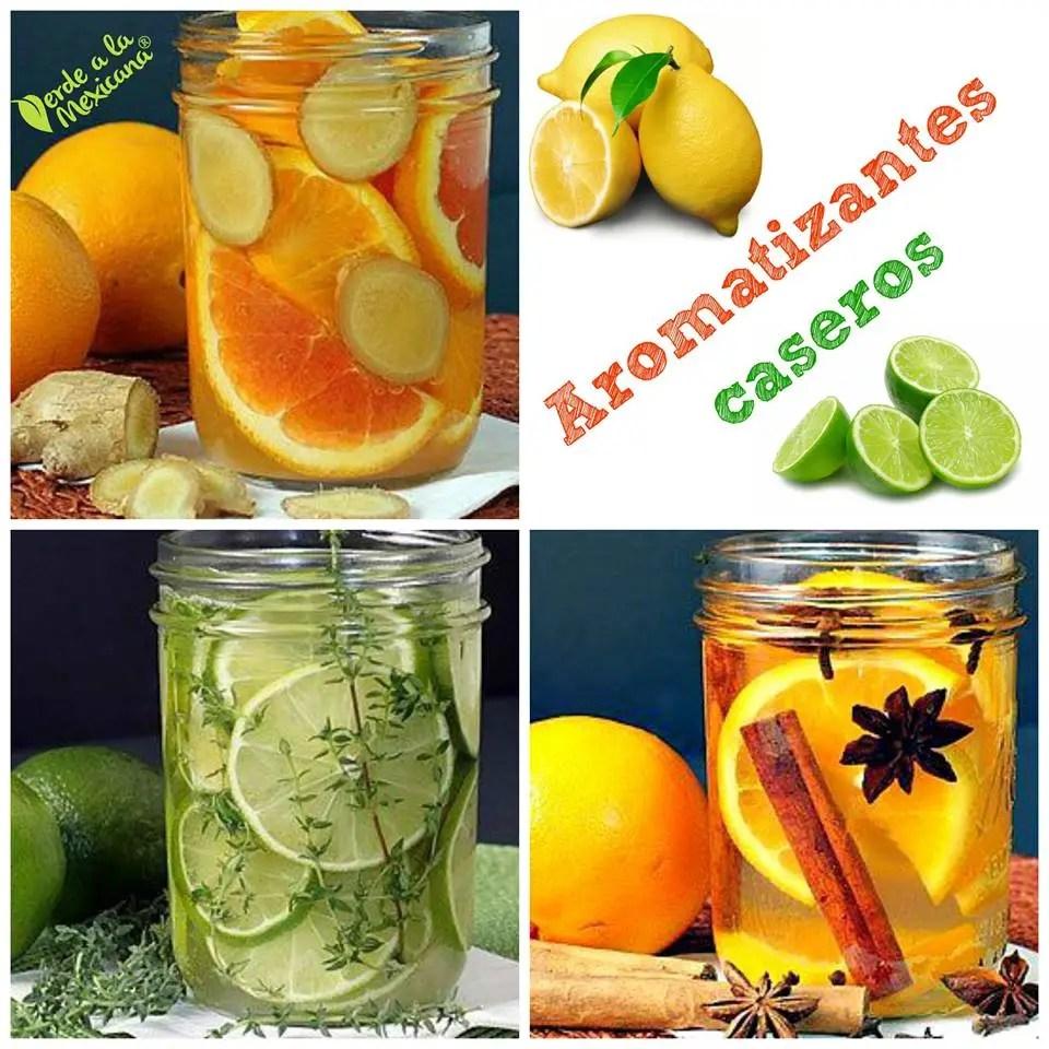 recetas para hacer aromatizantes caseros