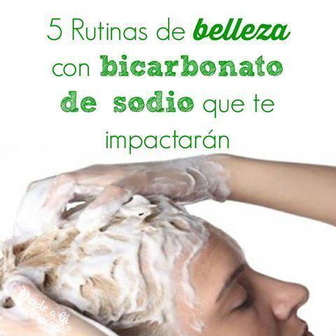 5 rutinas de belleza con bicarbonato de sodio que te impactarán