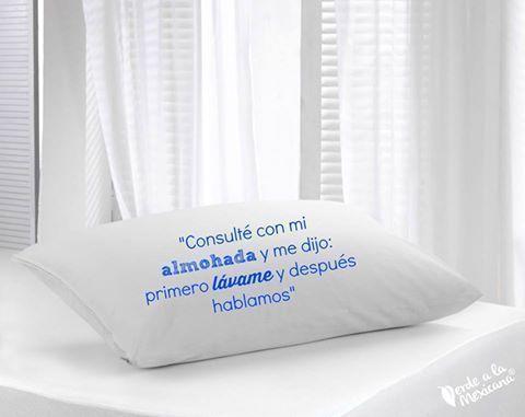 cómo lavar tus almohadas - verde a la mexicana