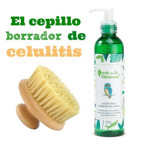 cepillo borrador de celulitis