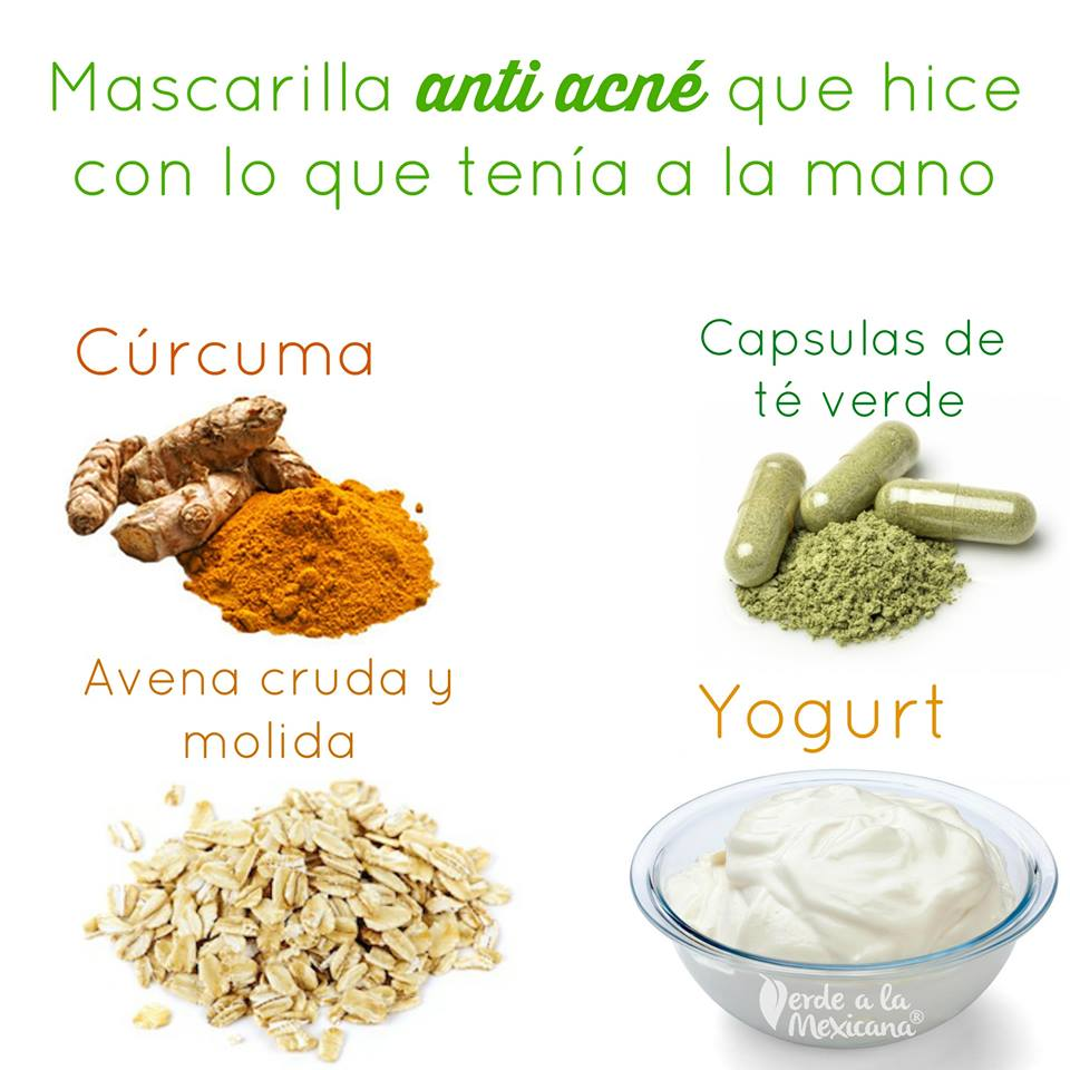 mascarilla anti acne hecha en casa