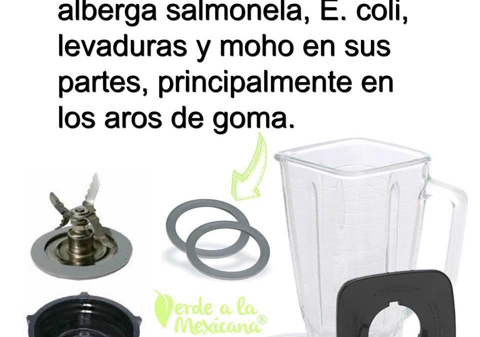 Licuadoras mal lavadas: foco de contaminación