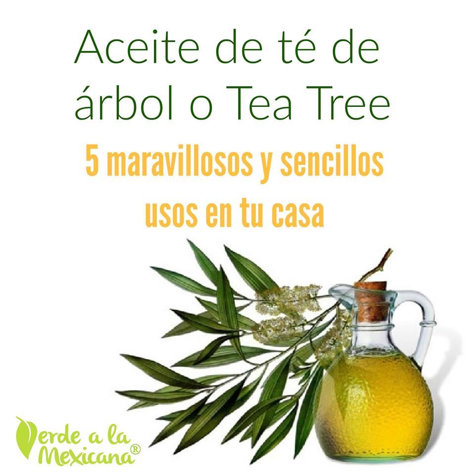 usos del aceite de tea tree