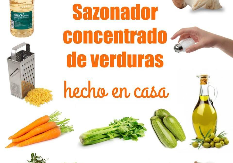 Sazonador concentrado de verduras