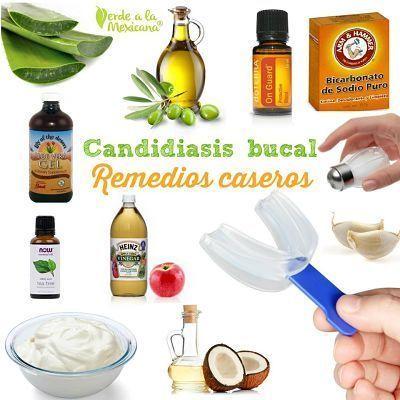 Remedios para la candidiasis bucal