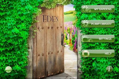 Aplicaciones para Iphone : Eden Garden Designer