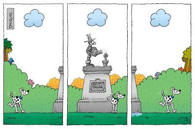 Humor y jardinería - El Jardinero Mágico sabe que algún día recibirá el reconocimiento que se merece.